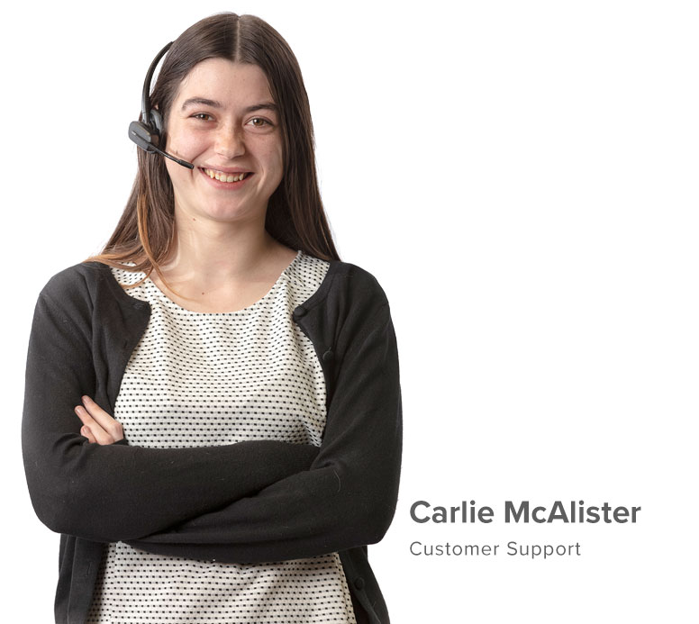 Carlie McAlister Customer Support