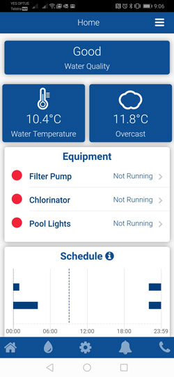 Pooled Energy Smart Meter App Monitor Screenshot